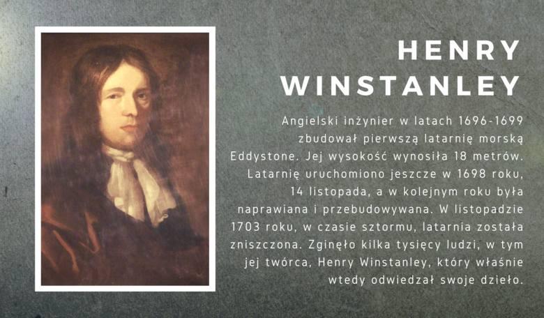 Angielski inżynier w latach 1696-1699 zbudował pierwszą latarnię morską Eddystone. Stworzył ją na planie ośmiokątu, z granitu i drewna, jej wysokość