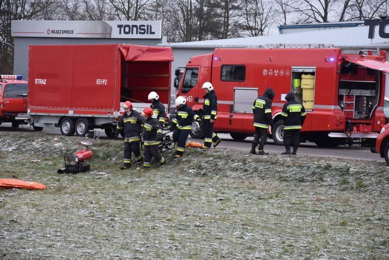 Tragedia w Tonsilu. Nie żyje jedna osoba, trzy w szpitalu
