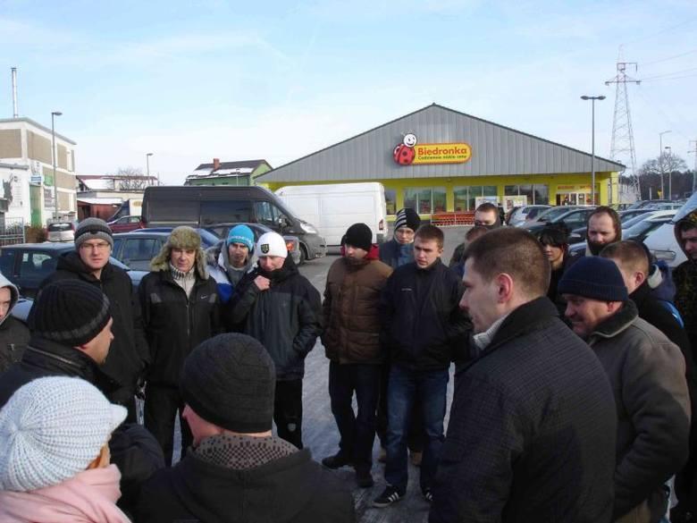 Tak protestowali kierowcy w Ełku