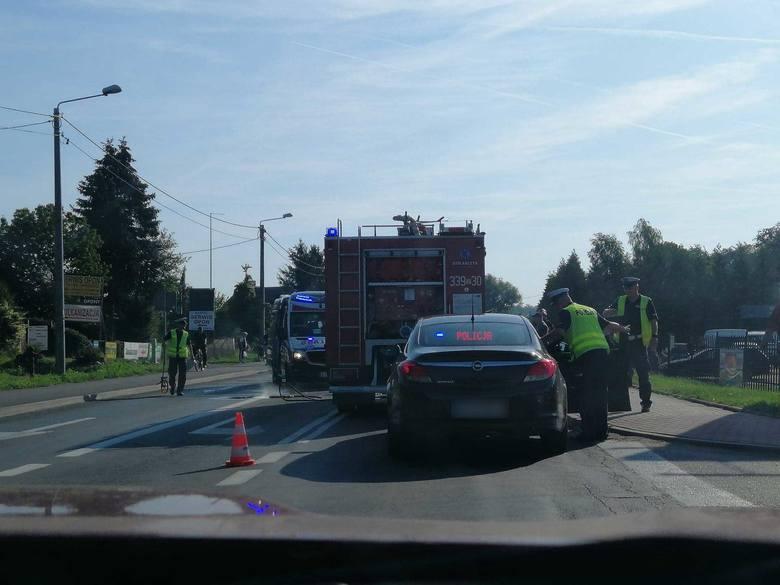 Wypadek pod Koszalinem. Około 8.30 doszło do zderzenia dwóch aut w Mścicach.Jak poinformowała nas policja, kierowca volvo jadący drogą krajową nr 11