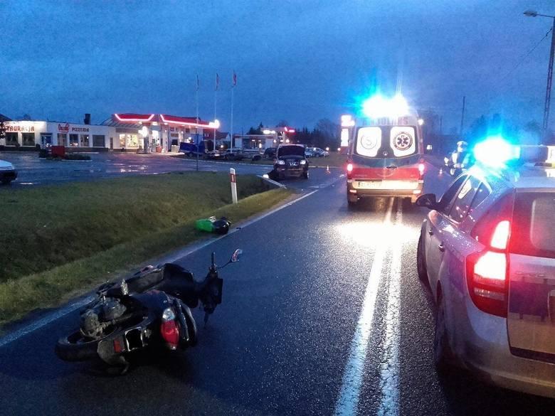 wypadek w Witnicy
