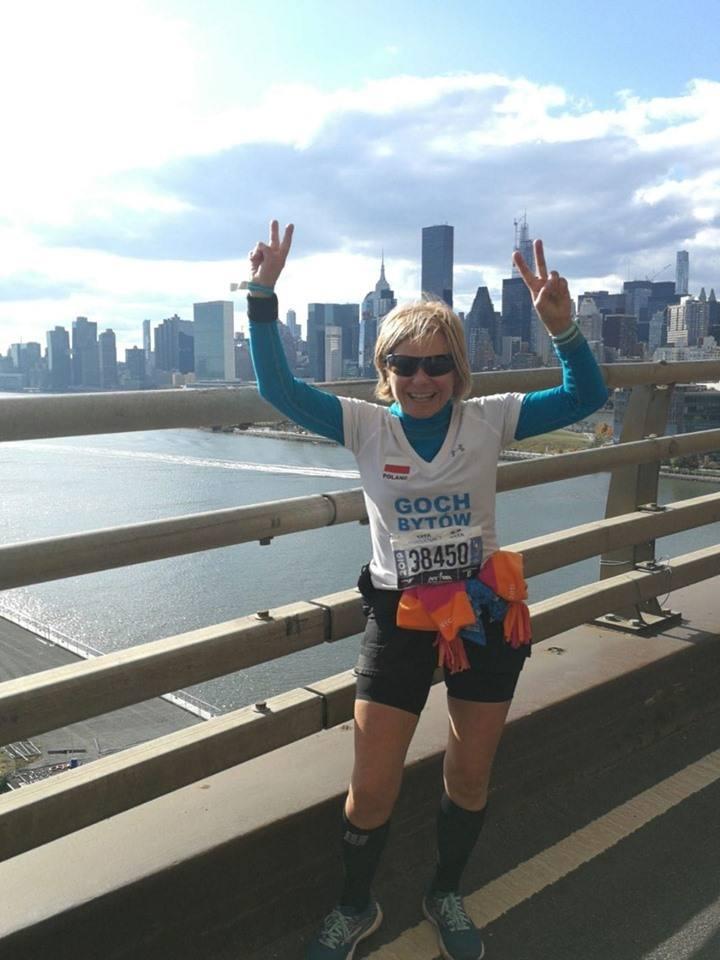 Hanna Muerau- Nowicka ukończyła 49. TCS New York City Marathon.