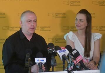 Maciej Dominiak i Agnieszka Kołdyńska- Iglesias.