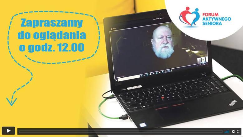 Forum Aktywnego Seniora: Spotkanie z prof. Jerzym Bralczykiem. Obejrzyj prelekcję i wygraj 300 zł!