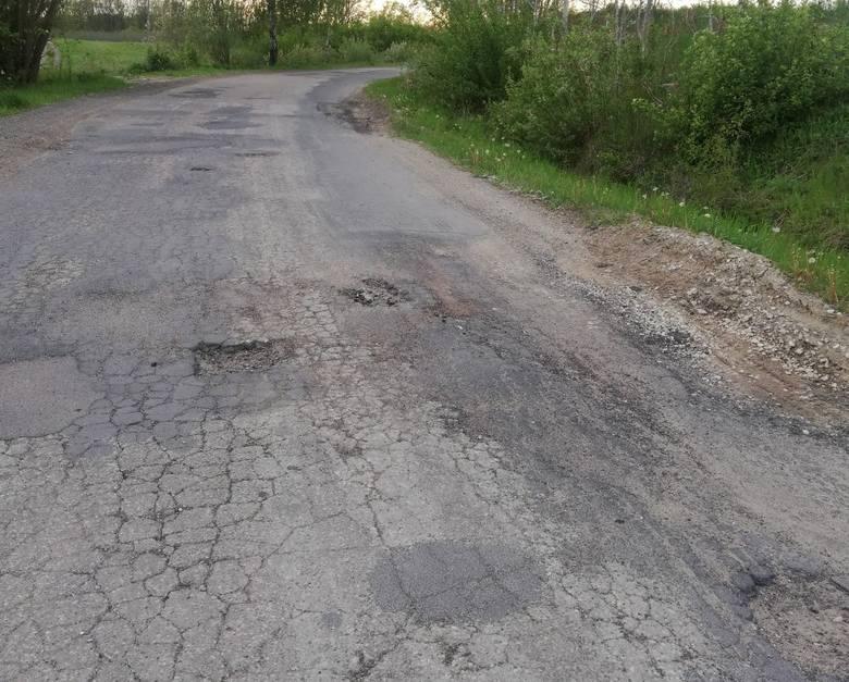 Tak wygląda droga łącząca Stanisławki i Jarantowice