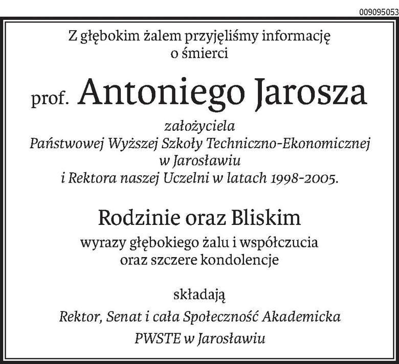 Nekrologi i kondolencje z dnia 14 maja 2019 roku