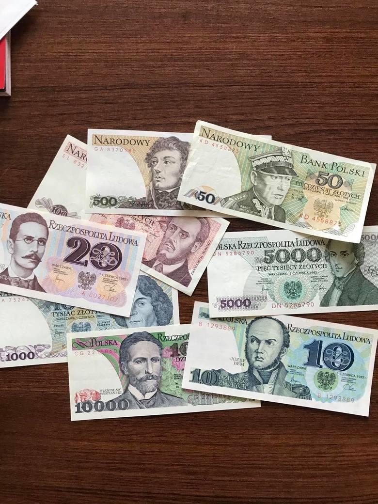 Banknoty późnego PRL-u zaprojektował Andrzej Heirdich
