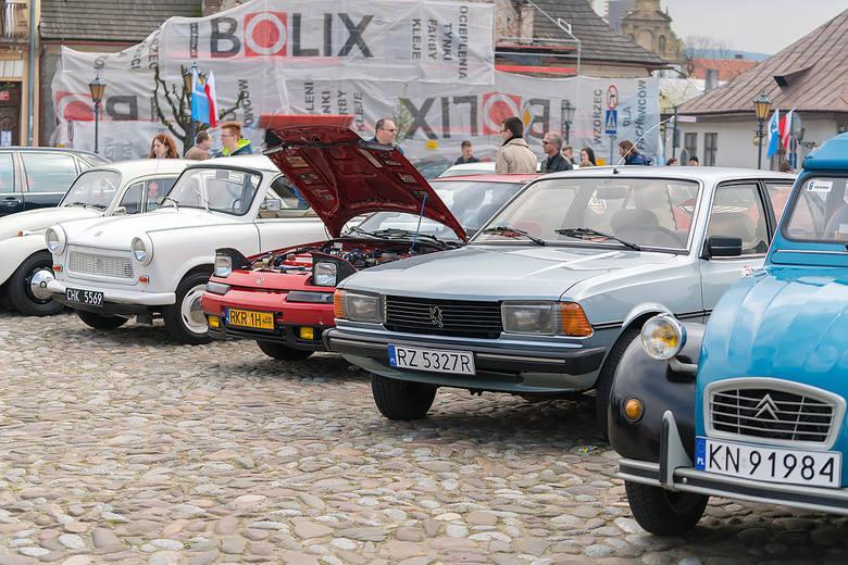 Zlot zabytkowych pojazdów w Starym Sączu