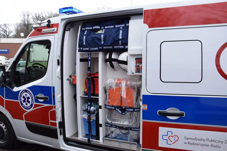 Nowe karetki i przeniesiony punkt nocnej opieki zdrowotnej w Kędzierzynie-Koźlu. Ważne informacje dla pacjentów