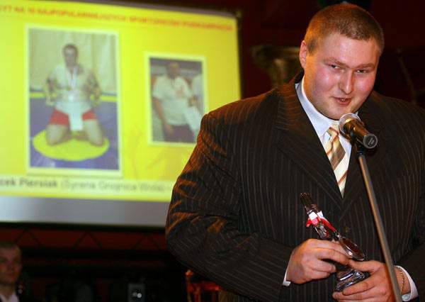 Jacek Piersiak, brązowy medalista mistrzostw Europy w ostatnim plebiscycie Nowin na 10 sportowców Podkarpacia zajął piąte miejsce.