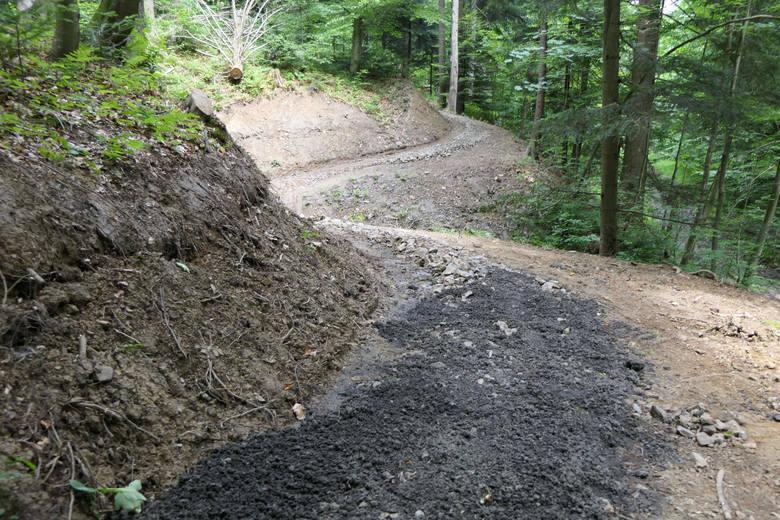 W Bieszczadach powstają singletracki. Będzie 50 kilometrów specjalnych tras rowerowych [ZDJĘCIA]