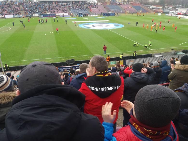 Pogoń Szczecin - Zagłębie Lubin. Rekord frekwencji na trybunach i pożegnanie Paprikany