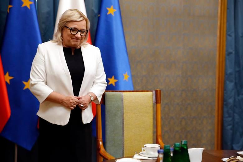 Z rządem pożegna się też Beata Kempa, jeśli zdobędzie mandat w Brukseli