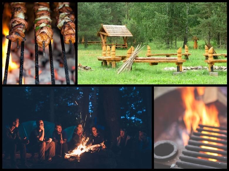 Sezon grillowo-ogniskowy ruszył pełną parą. Warto w weekend sprawdzić, w których miejscach najlepiej urządzić sobie piknik - grilla i ognisko w gronie