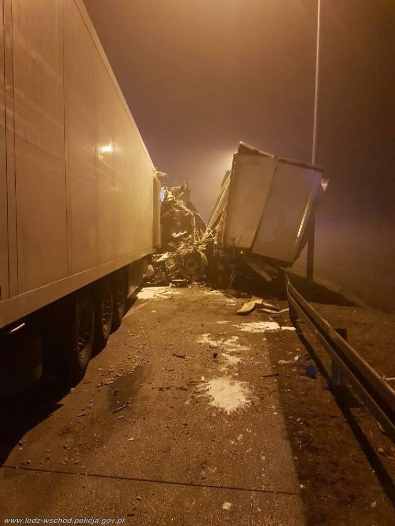 7 listopada 2019 roku tuż przed godz. 21 oficer dyżurny Komendy Powiatowej Policji powiatu łódzkiego wschodniego otrzymał zgłoszenie o wypadku na autostradzie