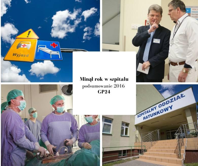 Przedstawiamy Wam najważniejsze wydarzenia 2016 roku. Dotyczą one słupskiego szpitala. Zapraszamy do przeczytania naszego podsumowania.Oglądaj także: