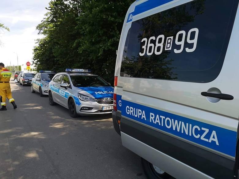 Jabłoń-Dąbrowa: Tragiczny finał poszukiwań 17-miesięcznego chłopca. Dziecko wpadło do szamba. Nie żyje (19 sierpnia 2019 r.)