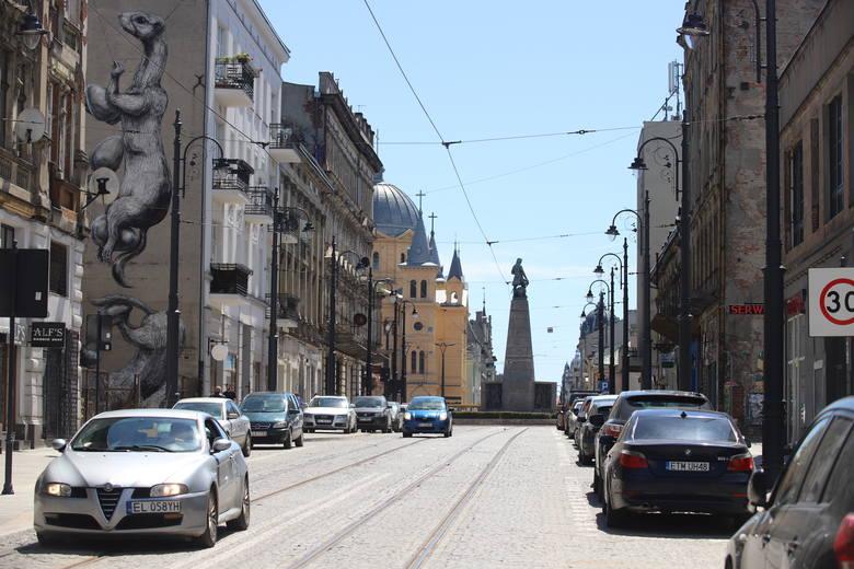 Sieć tramwajowa w Łodzi kurczy się w szybkim tempie...Nowomiejska bez tramwajów