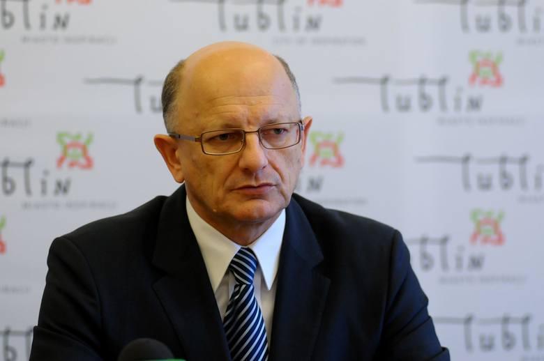 Krzysztof Żuk, prezydent Lublina od listopada 2010 roku. Z miejskiej kasy pobiera 11 250 zł