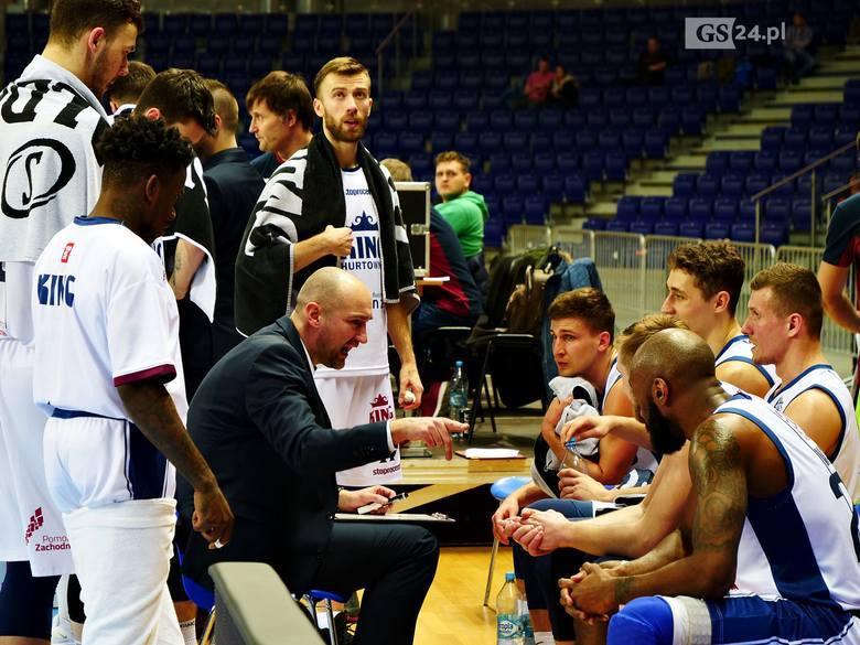 King Szczecin - Start Lublin 72:75. Słaby mecz Wilków i porażka w ostatniej akcji