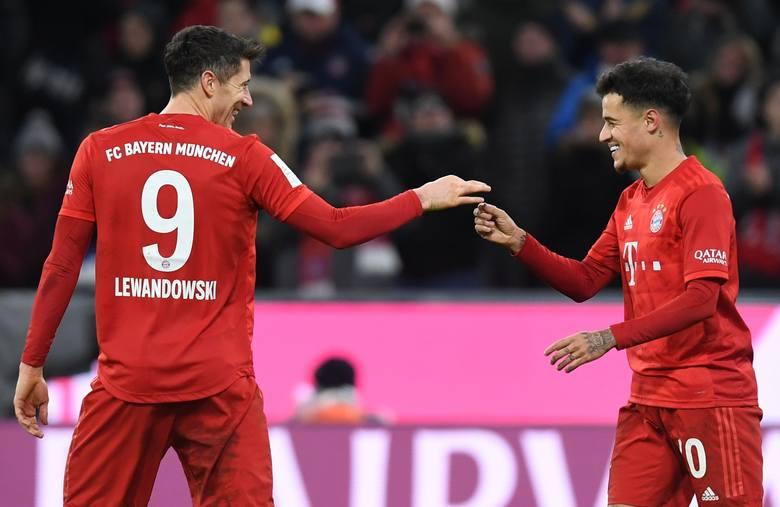 Nie sprawdził się w Barcelonie, Lewandowski jest nim zachwycony