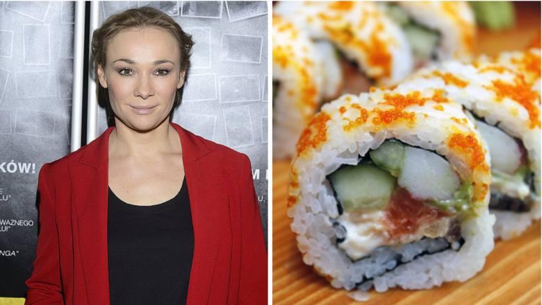 """Aktorka Sonia Bohosiewicz odniosła sukces w trudnej branży restauracyjnej. Jest właścicielką warszawskiej restauracji  Sushibu.  W lokalu oferuje """"bogatą"""