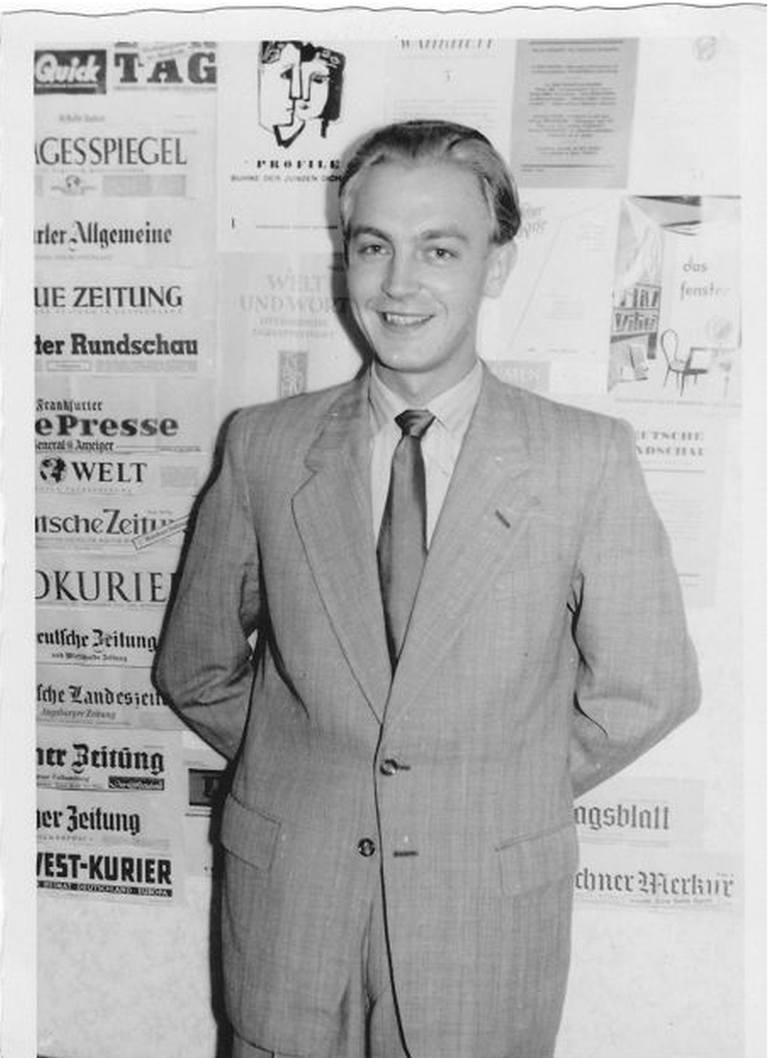 Heinz Piontek w 1953 roku.