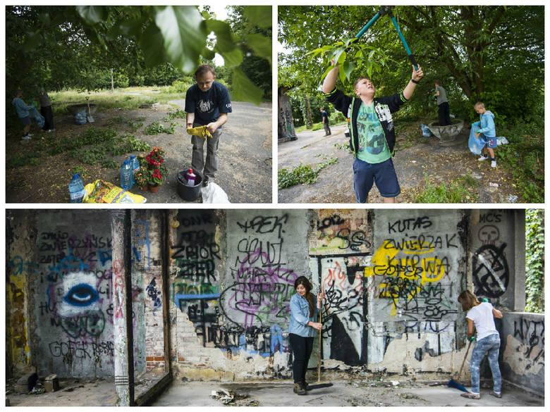 Sprzątanie Dworca Północnego w Toruniu