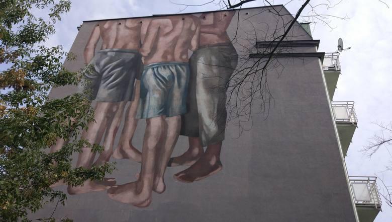 Kolejny Mural W Lodzi Czterech Chlopcow Boso Przy Ul Cmentarnej