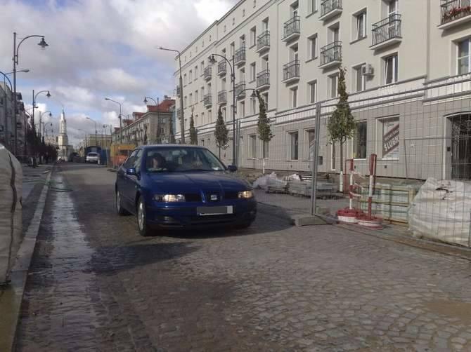 13 października niewielki fragment Lipowej został otwarty dla ruchu