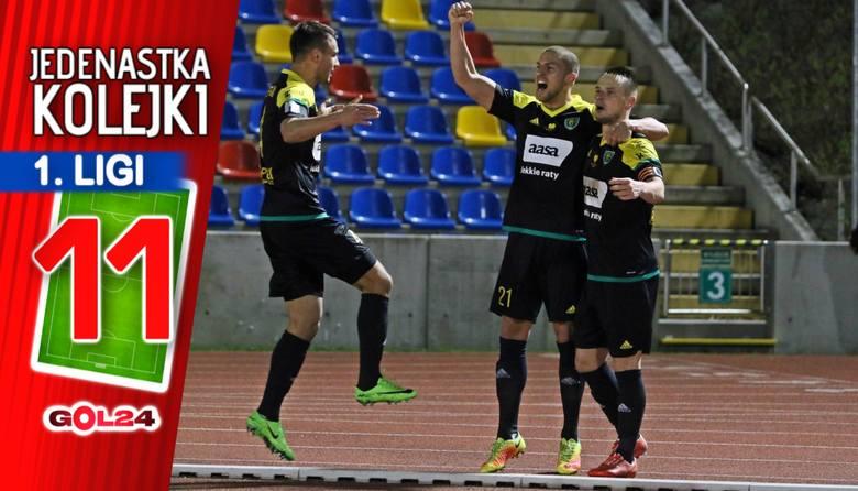 Wreszcie serię remisów zakończyła Chojniczanka - nieco wymęczoną wygraną w Mielcu. Wysokie zwycięstwa na wyjazdach odniosły GKS Katowice i Zagłębie Sosnowiec.