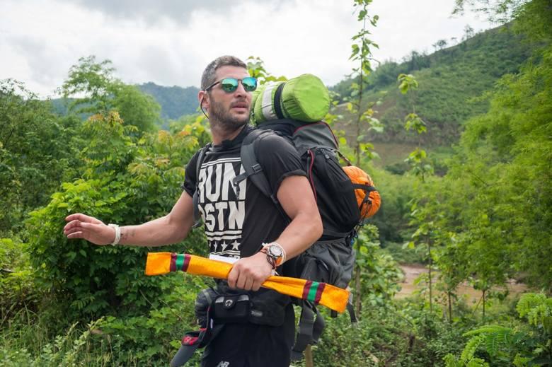 Plecak turystyczny turystyczny Tryfan 60-70 Karrimor, którego Leszek Stanek używał podczas programu Azja Express.<br /> <br /> Obecna cena: 5 600 zł<br /> <strong><a href=