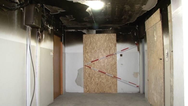 Wybuch w wieżowcu był na tyle silny, że powyrywało drzwi i powybijało okna. Na szczęście nikt nie zginął