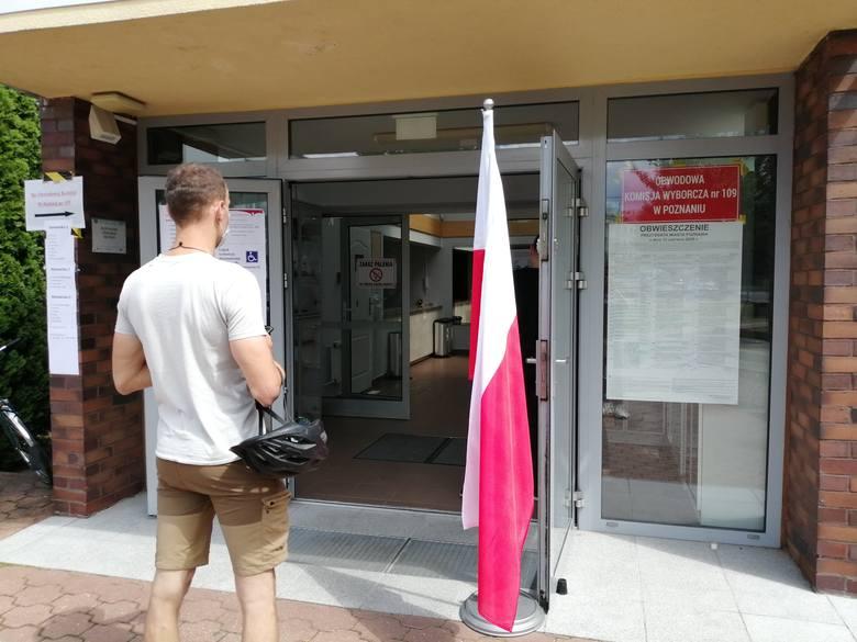 Frekwencja wyborcza w Poznaniu na razie jest porównywalna do tej, która była podczas pierwszej tury wyborów prezydenckich
