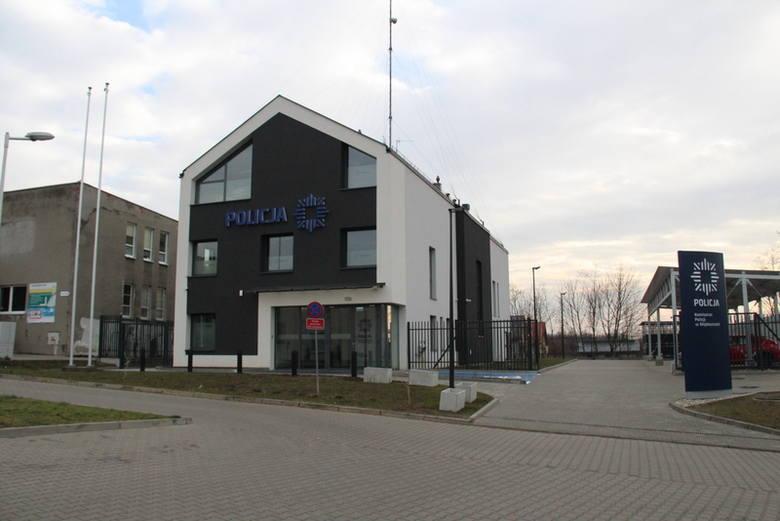 Tak prezentuje się nowy komisariat policji w Wojkowicach