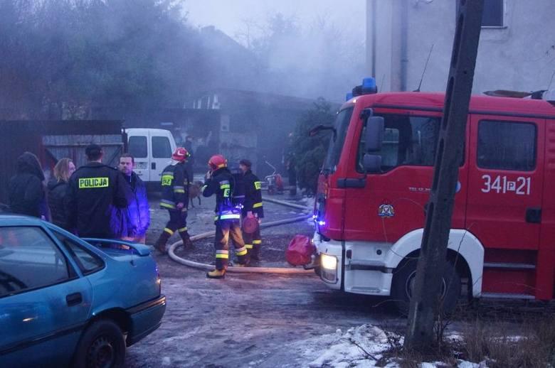 Pożar w Kaliszu: Jedna osoba nie żyje