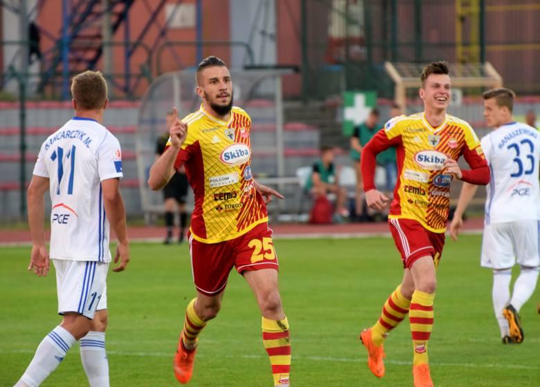 Chojniczanka wygrała na własnym boisku ze Stalą Mielec. W najciekawszym meczu 30. kolejki 1. ligi piłkarskiej bramkę dla gospodarzy - już w pierwszej
