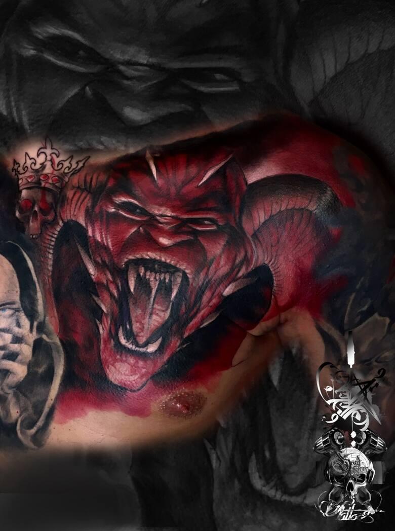 Studio tatuażu - Sebastian Marciszak