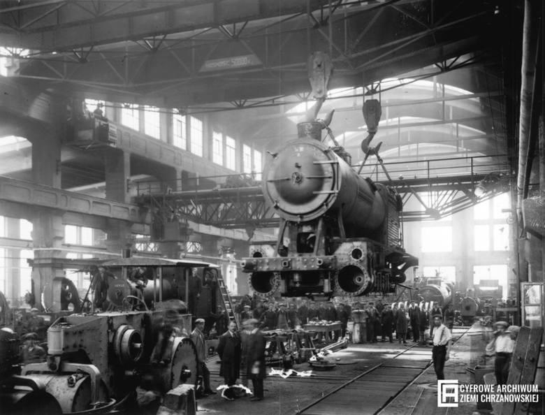 """Pierwsza Fabryka Lokomotyw w Polsce, czyli Spółka Akcyjna """"Fablok"""", została założona 20 maja 1919 r. w Chrzanowie. Miała za zadanie produkcję taborów"""