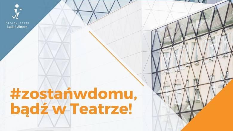 Opolski Teatr Lalki i Aktora przygotował nowy repertuar. Kilkanaście cykli filmowych zobaczymy online