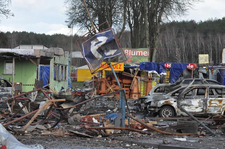 Wybuch na stoisku fajerwerków w Osinowie Dolnym - 29 marca