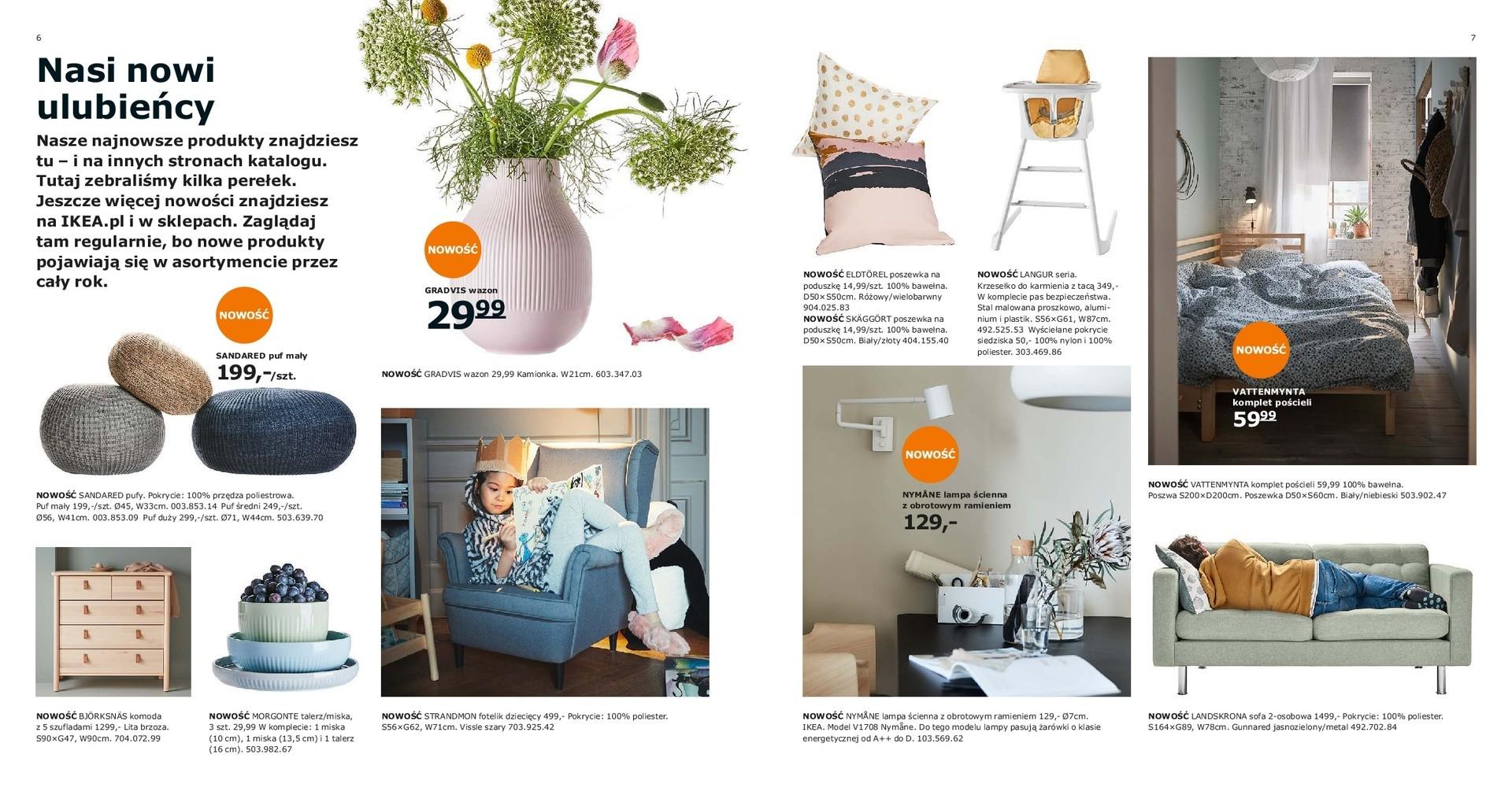 ikea krak w katalog ikea 2019 ju dost pny aran acje vintage artystyczny nie ad i mn stwo. Black Bedroom Furniture Sets. Home Design Ideas