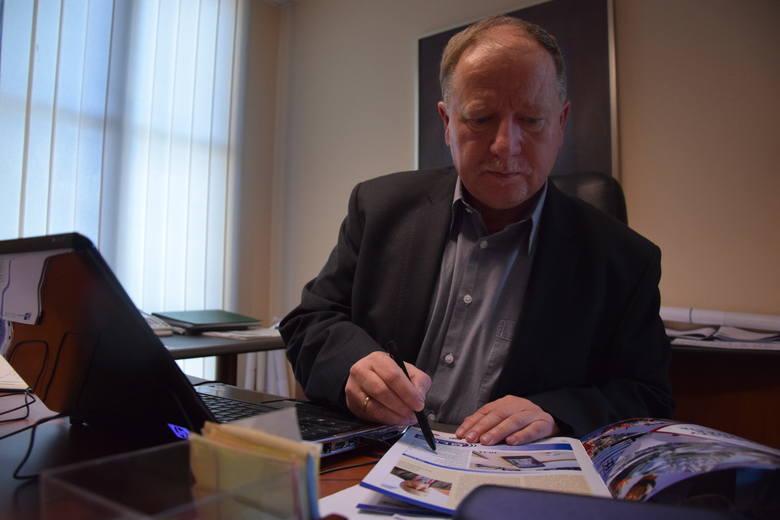 Jerzy Korolewicz na co dzień prowadzi firmę Euro Invest w Gorzowie. Jest prezesem Zachodniej Izby Przemysłowo-Handlowej.