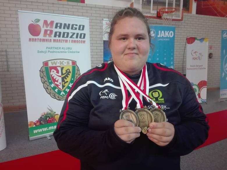 Zwycięstwo młodej Magdaleny Karolak w kategorii +90 kg było jedną z największych niespodzianek mistrzostw Polski