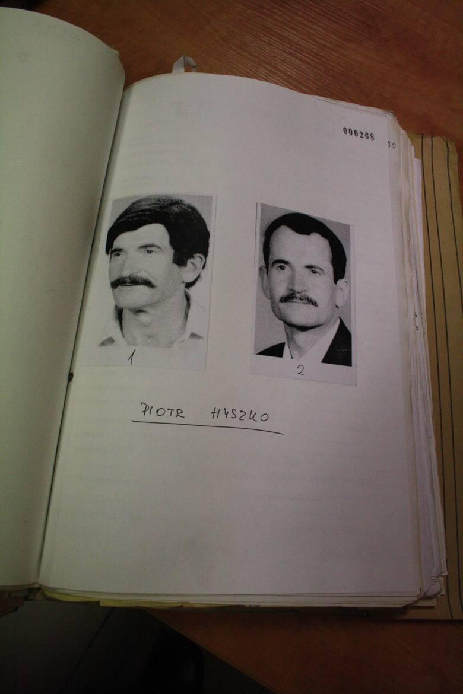 Oskarżony Piotr Hyszko
