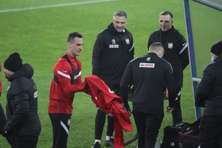 Trening reprezentacji Polski na stadionie Ruchu Chorzów  Zobacz kolejne zdjęcia. Przesuwaj zdjęcia w prawo - naciśnij strzałkę lub przycisk NASTĘPNE