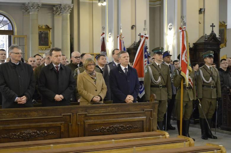 Wizyta ministra Błaszczaka bez związku z rafinerią AKTUALIZACJA