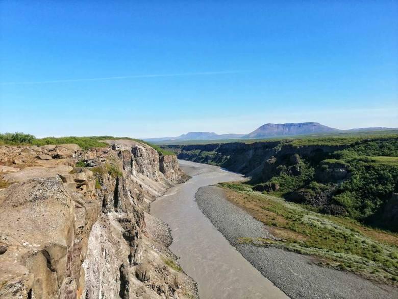 Dzień drugi: dolina rzeki Jökulsá