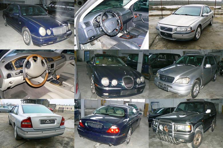 Białostoccy celnicy mają do sprzedaży kolejne używane samochody. Część z nich to luksusowe auta, ale są też terenowe, dostawcze i zwykłe osobówki. Ich