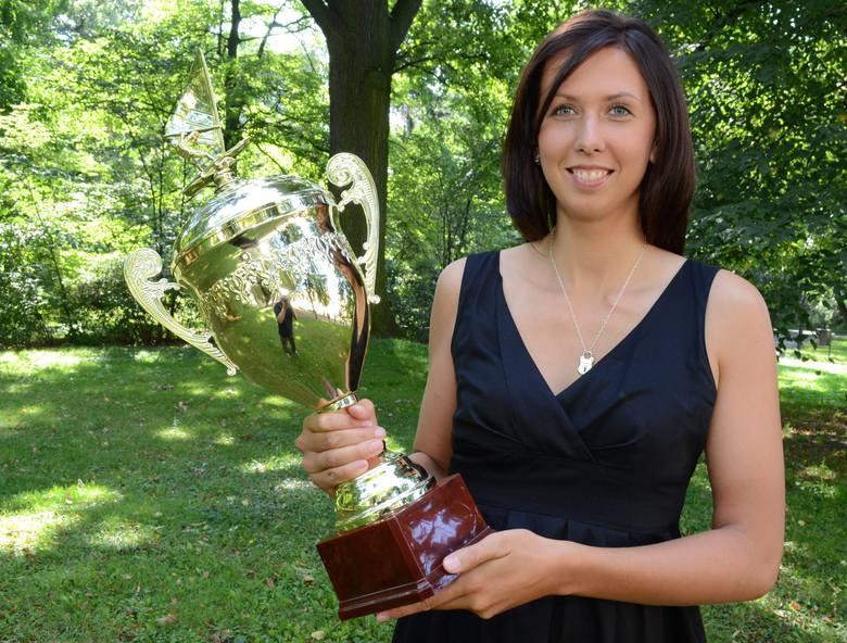 Agnieszka Pietrasik - mistrzyni świata z Łodzi w Formule Windsurfingu.